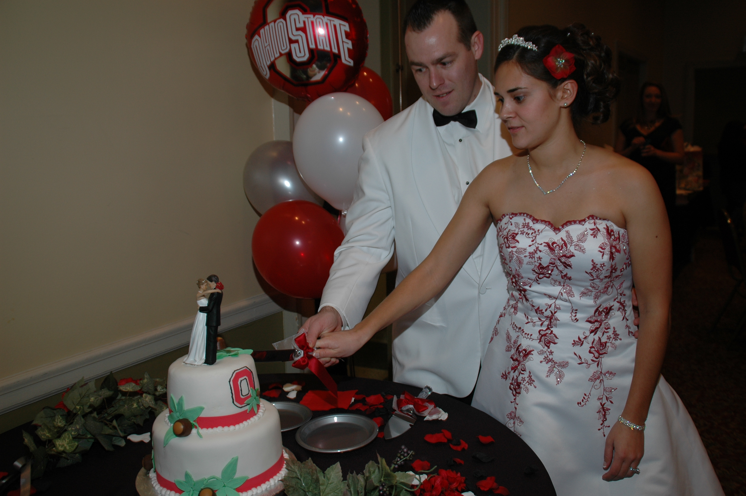 Tracy & Kelly Cake Cutting